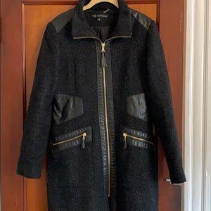 Leather and Tweed Via Spiga Jacket